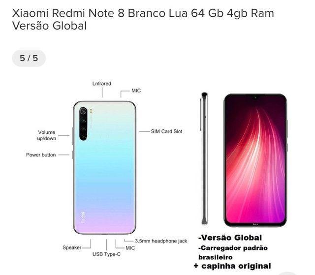 Xiaomi note 8 64gb novo lacrado - Foto 3