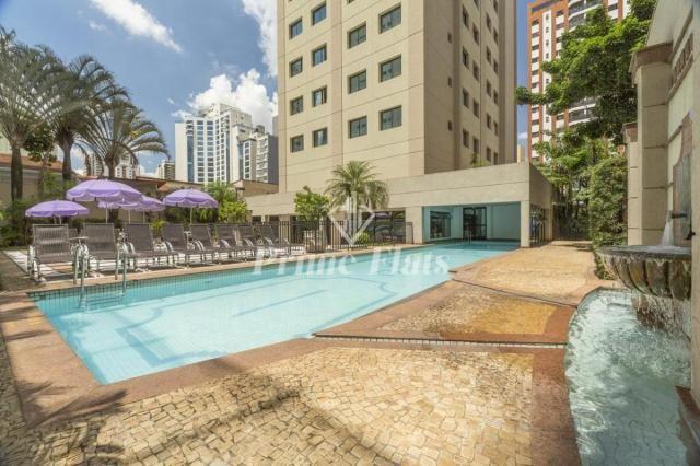 Flat para locação e venda no Mercure São Paulo Ibirapuera Privilege com 1 dormitório e 1 v - Foto 9