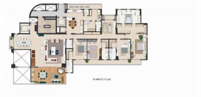 Apartamento à venda, 5 quartos, 4 suítes, 5 vagas, Joquei - Teresina/PI - Foto 9