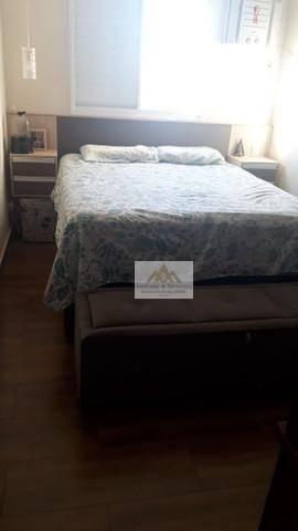 Apartamento com 2 dormitórios à venda, 56 m² por R$ 265.000,00 - Planalto Verde - Ribeirão - Foto 3