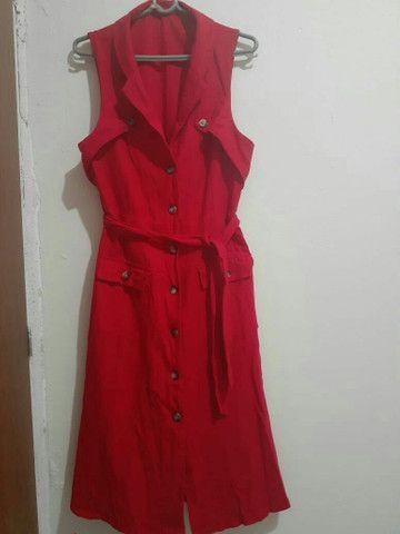 Vestido vermelho M