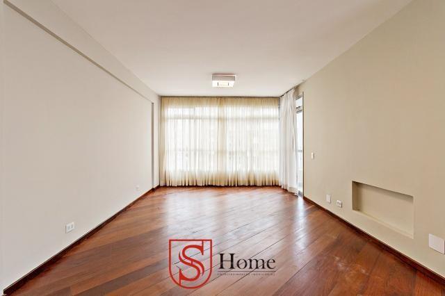 Apartamento com 4 quartos e 2 vagas para aluguel no Bigorrilho em Curitiba - PR - Foto 2