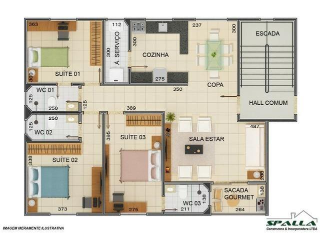 3 suites em promoção, 230.000,00 - Foto 6