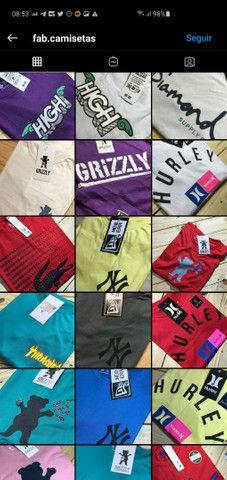 Camisetas no padrão shopping - Foto 3