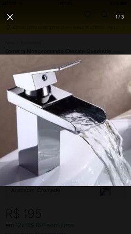 Torneira cascata monocomando para banheiro