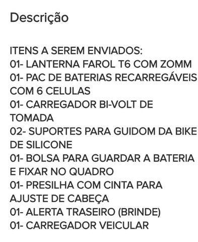 Farol para bike  - Foto 4