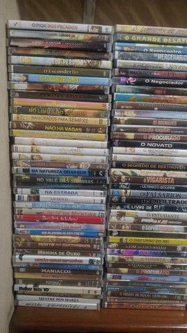Vendo novecentos DVD's de Filmes e Shows - PREÇO R$ 600,00 - Foto 5