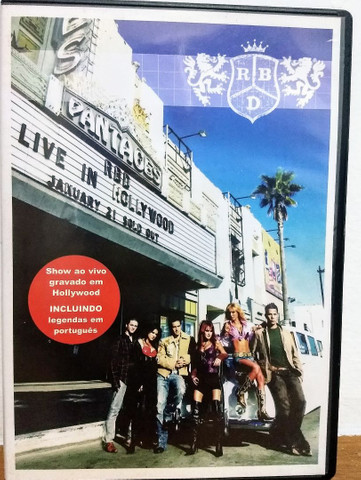 Dvd RBD - Live in Hollywood