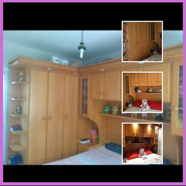 2 moveis de quarto madeira r$ 2500 cada um..sem.cama  - Foto 3