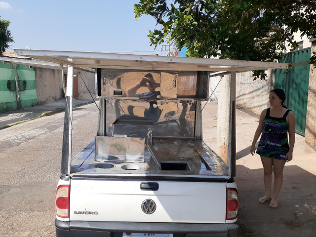 Saveiro g4 com food truck - Foto 3