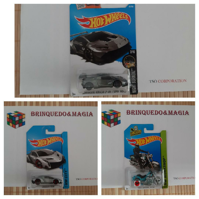 Miniaturas Hot Wheels