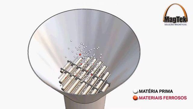 Grade Magnética / Ímã para Injetora, Sopradora e Extrusora - MagTek - Foto 2