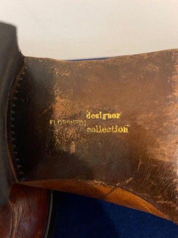 Sapato Florshine, USA, designer collection anos 70, - Foto 6