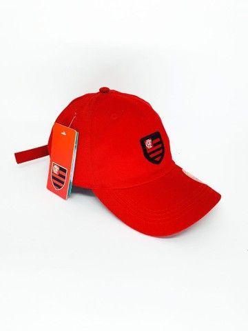Boné Flamengo Dad Hat Strapback Unissex  - Foto 4