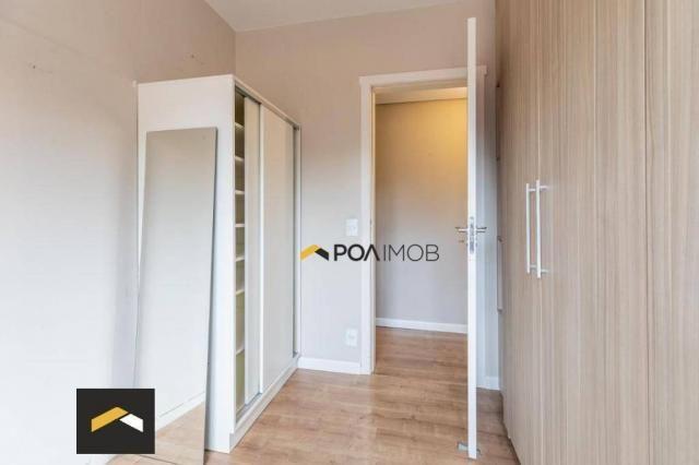 Apartamento com 3 dormitórios para alugar, 96 m² por R$ 3.600,00/mês - Petrópolis - Porto  - Foto 9