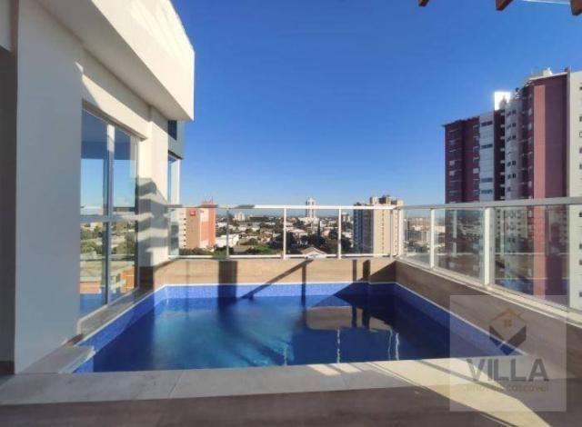 Apartamento com 2 dormitórios à venda, por R$ 355.886 - Centro - Cascavel/PR - Foto 11