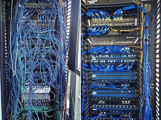 Rede cabeamento estruturado - telefonia