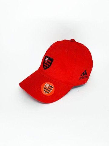 Boné Flamengo Dad Hat Strapback Unissex  - Foto 5