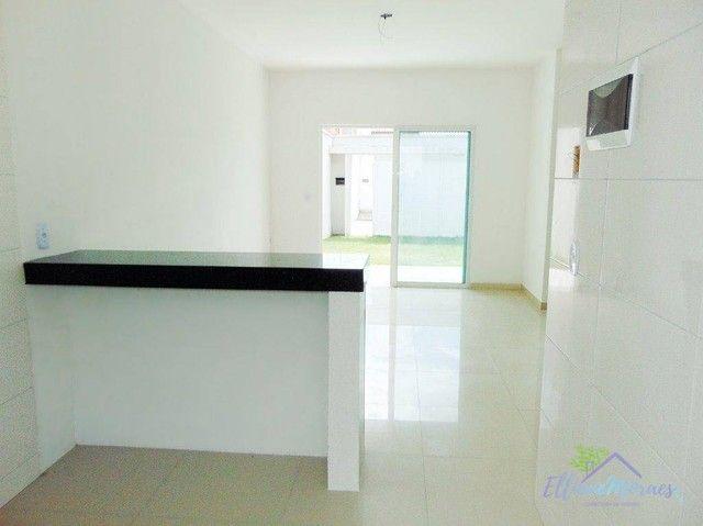 Casa com 3 dormitórios à venda, 83 m² por R$ 230.000,00 - Lagoinha - Eusébio/CE - Foto 7