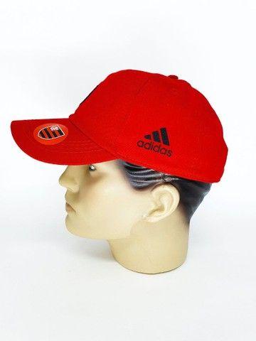 Boné Flamengo Dad Hat Strapback Unissex  - Foto 2
