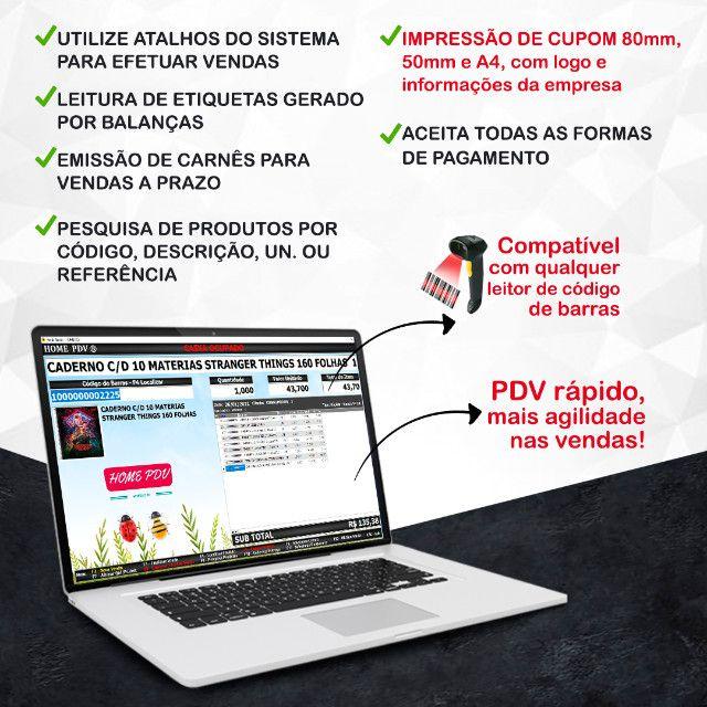 Sistema PDV Frente de Caixa, Financeiro, Entradas, Despesas, Completo - Marabá - Foto 2