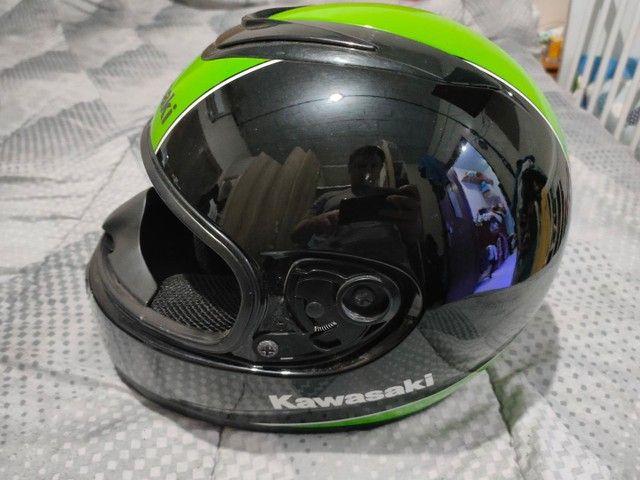 Capacete Kawasaki NAU Helmet - Foto 3