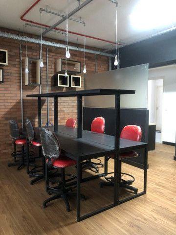 Sala no Eliza Miranda prota para escritorio , Coworking , 51 m² equipada