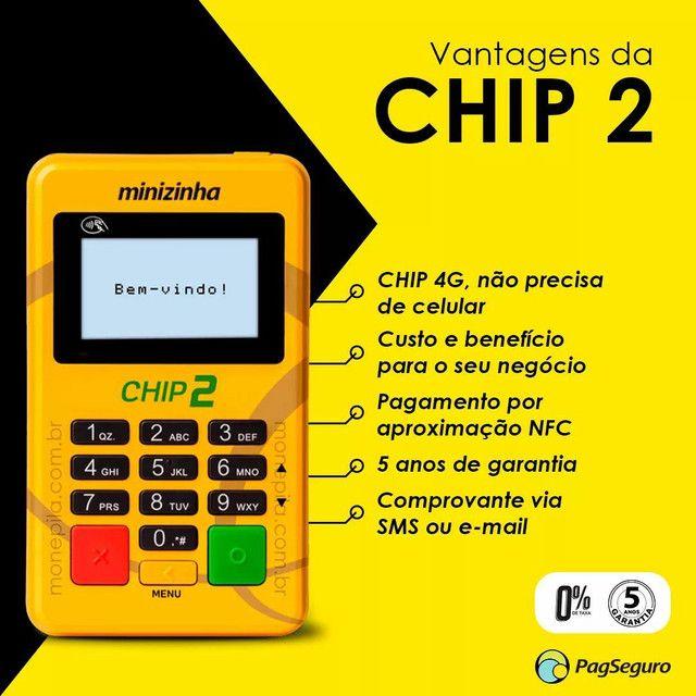 Maquininha de Cartão Mercado Pago e PagSeguro  - Foto 2