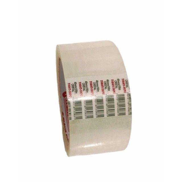 Fita Adesiva Transparente Tight Tape 48mmx100m - Cx 80 unidades - Foto 6