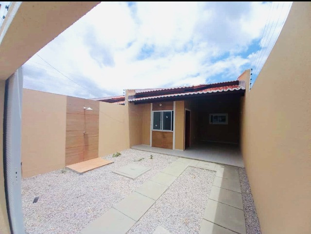 DP casa nova com 2 quartos 2 banheiros com doc. inclusa com entrada facilitada - Foto 2