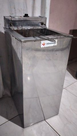 Fritadeira elétrica industrial 18 Litros 220v - Foto 3