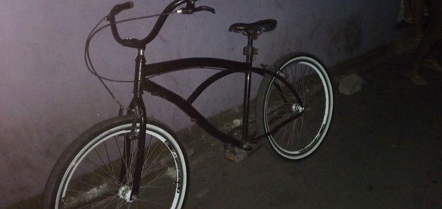 Bicicleta semi nova conservada - Foto 2