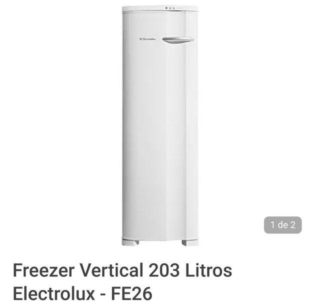Freezer Electrolux Fe26 220v Industrial - Foto 2