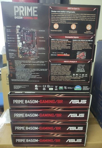 Placa Mãe Asus Prime B450M Gaming/BR - Foto 3