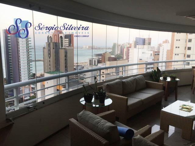 Apartamento no Meireles com vista mar e área de lazer 4 suítes na Joaquim Nabuco - Foto 7