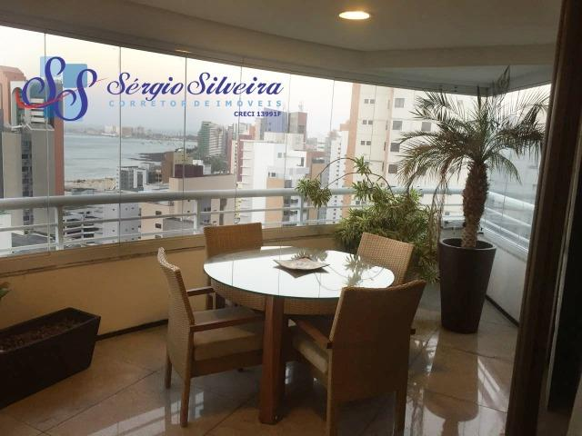 Apartamento no Meireles com vista mar e área de lazer 4 suítes na Joaquim Nabuco - Foto 15