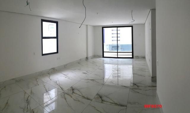 Palmares, apartamento no Meireles, vista mar, 4 suítes, 5 vagas, lazer completo - Foto 5