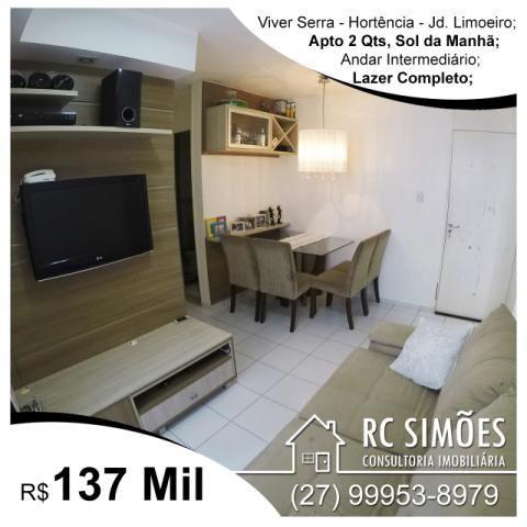 Viver Serra, Apartamento 2 Quartos com Varanda em Jardim Limoeiro