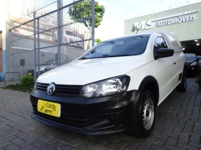 Oportunidade Repasse Vw - Volkswagen Saveiro CS 1.6 com ar condicionado