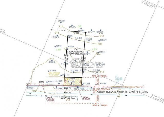 Terreno à venda, 1281 m² por R$ 281.890,00 - Estados - Fazenda Rio Grande/PR - Foto 20