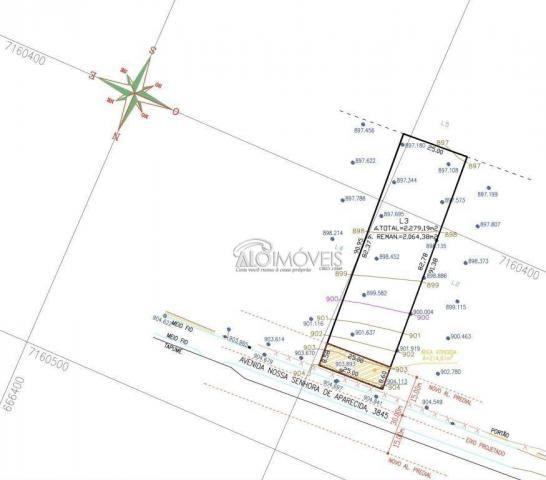 Terreno à venda, 1252 m² por R$ 275.569,00 - Estados - Fazenda Rio Grande/PR - Foto 3
