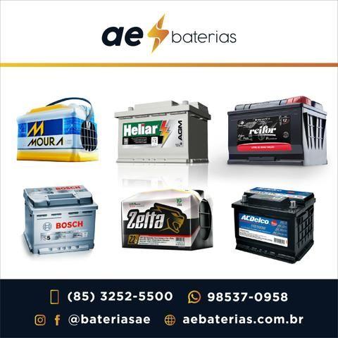 Bateria 70Ah Bosch, Delco, Moura e Heliar