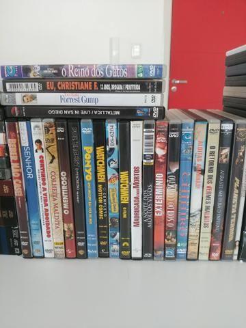 Coleçao de DVDs muitos título raros barbada - Foto 3