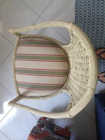 Cadeiras de Junco Natural - Foto 2