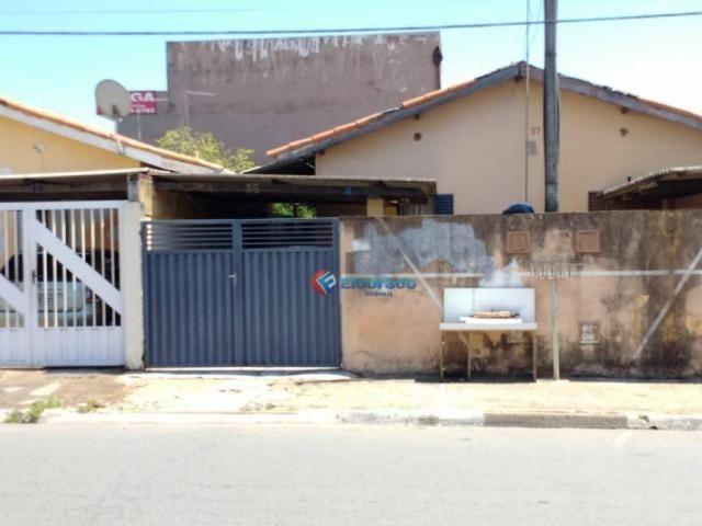 Casa à venda, 63 m² por r$ 250.000,00 - jardim das paineiras - hortolândia/sp