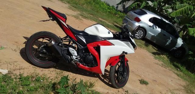 Passo financiamento Yamaha R-3 yzf