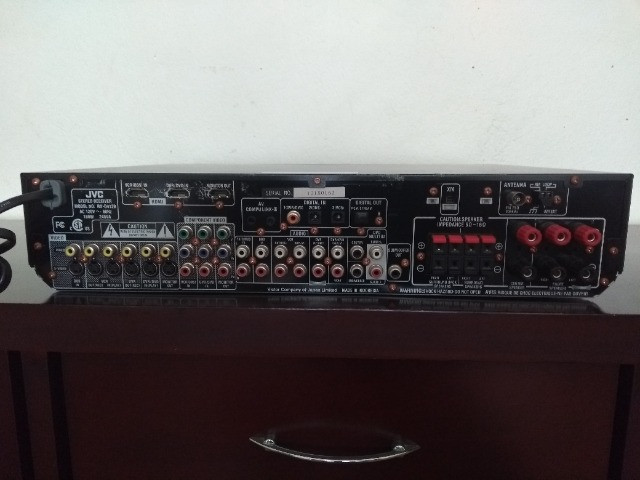 Receiver JVC (RX-D412B) - Foto 3