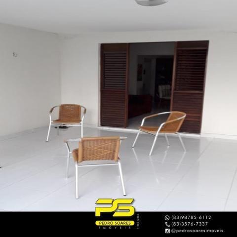 Casa com 3 dormitórios para alugar, 420 m² por R$ 8.000/mês - Tambaú - João Pessoa/PB - Foto 3