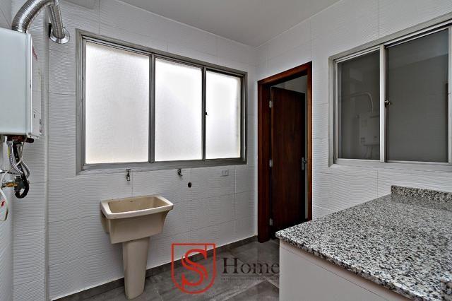 Apartamento com 4 quartos e 2 vagas para aluguel no Bigorrilho em Curitiba - PR - Foto 9