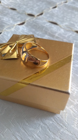 Anel em ouro 750 - Foto 4